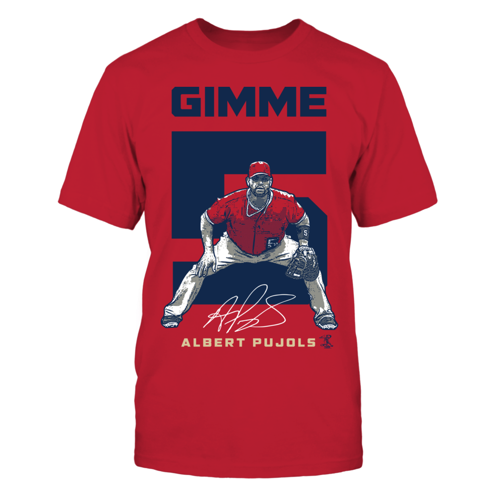 Albert Pujols - Gimme 5 Front picture