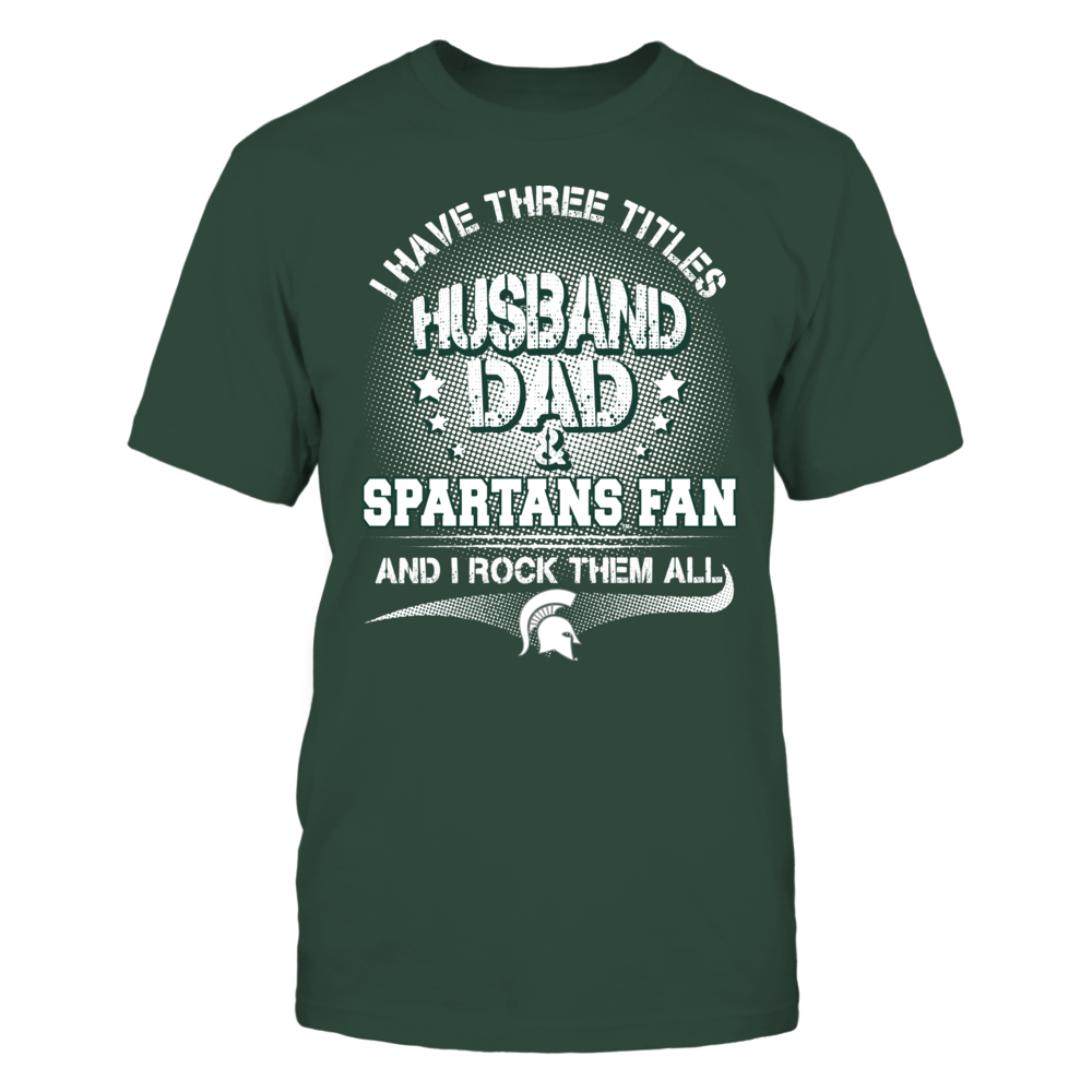 Michigan State Spartants - 3 titles Front picture