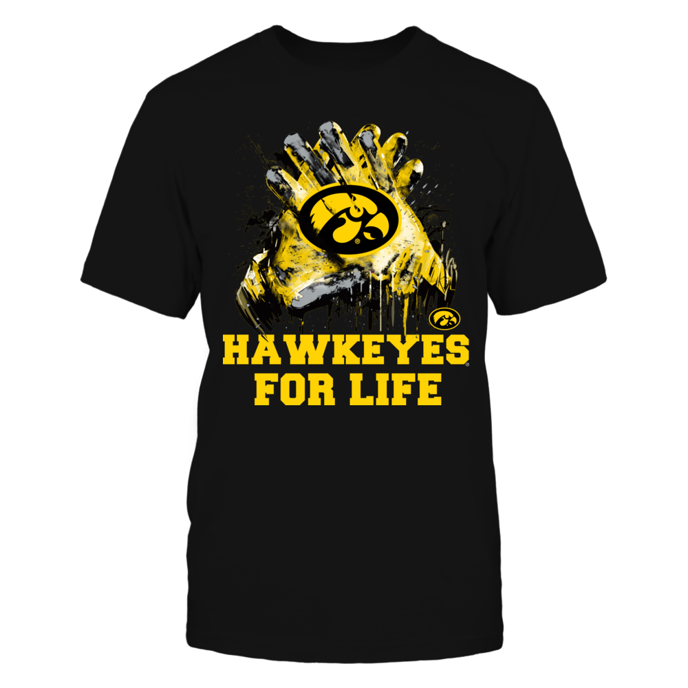 Iowa Hawkeyes - For Life - IF-IC17-DS45 Front picture