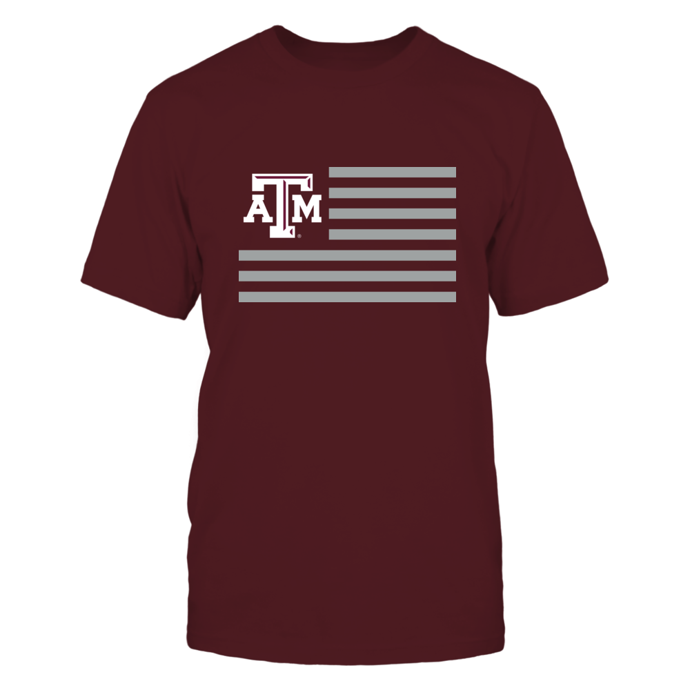 TEXAS A&M & STRIPES - TEXAS A&M AGGIES Front picture