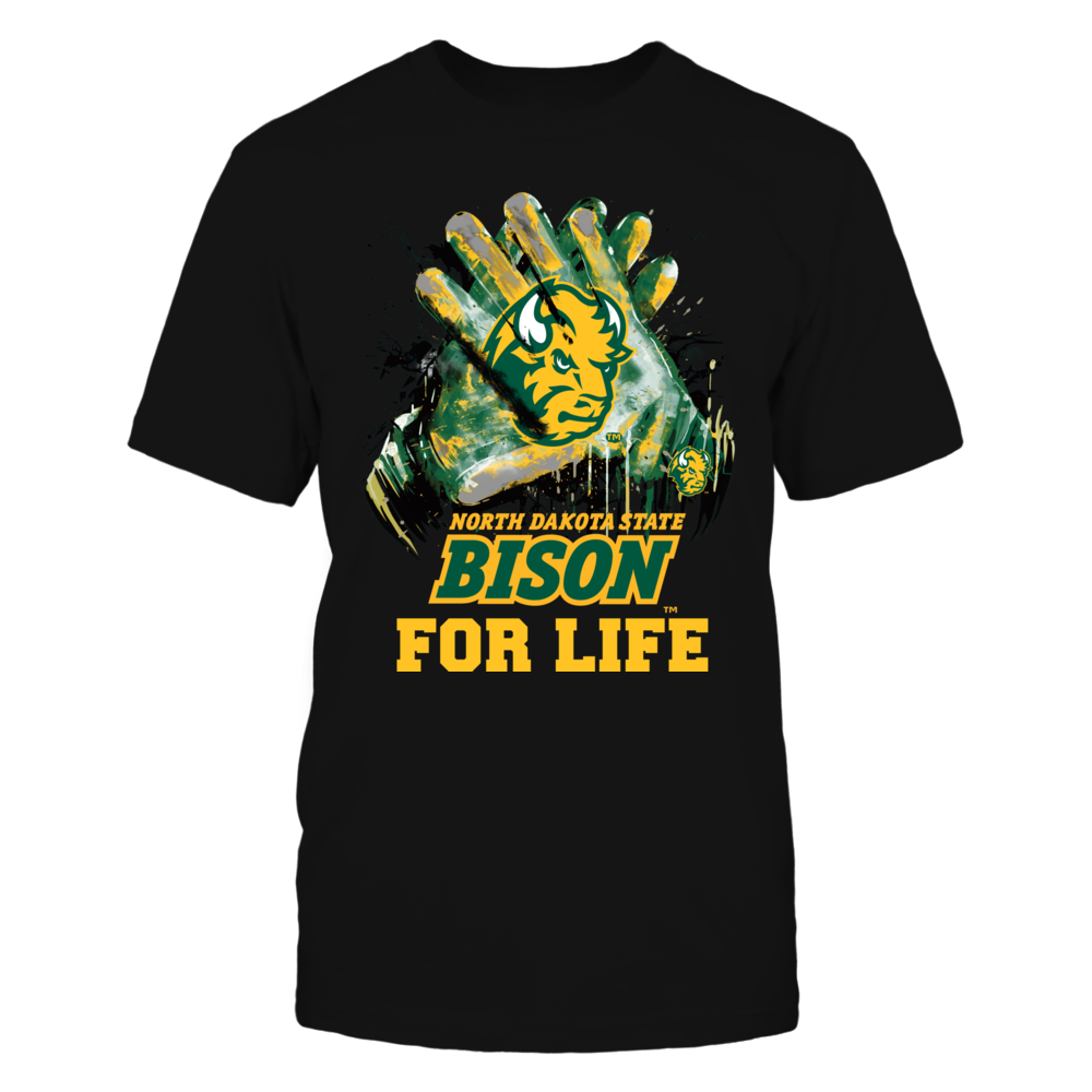 North Dakota State Bison - For Life Front picture