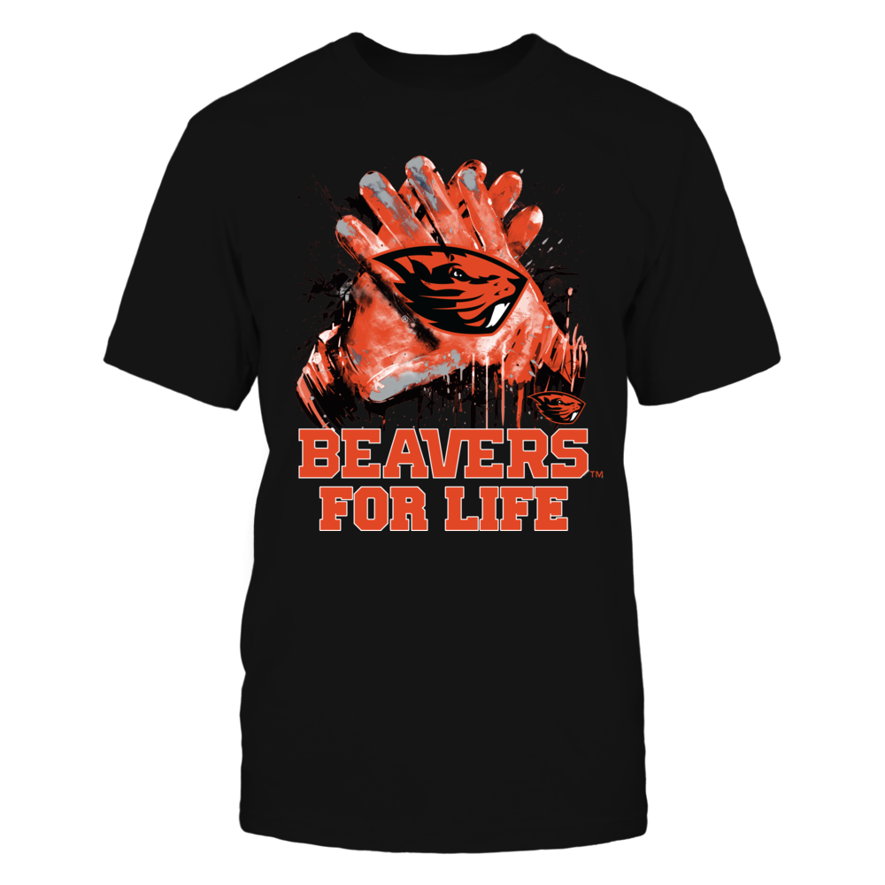 Oregon State Beavers - For Life Front picture