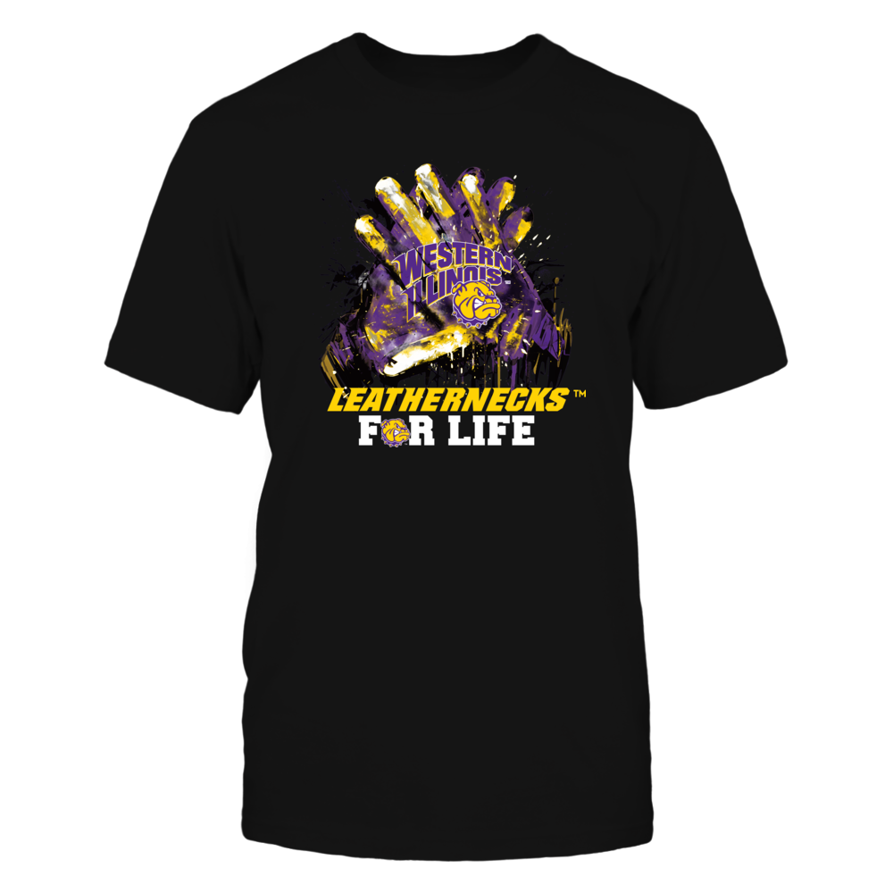 Western Illinois Leathernecks - For Life Front picture