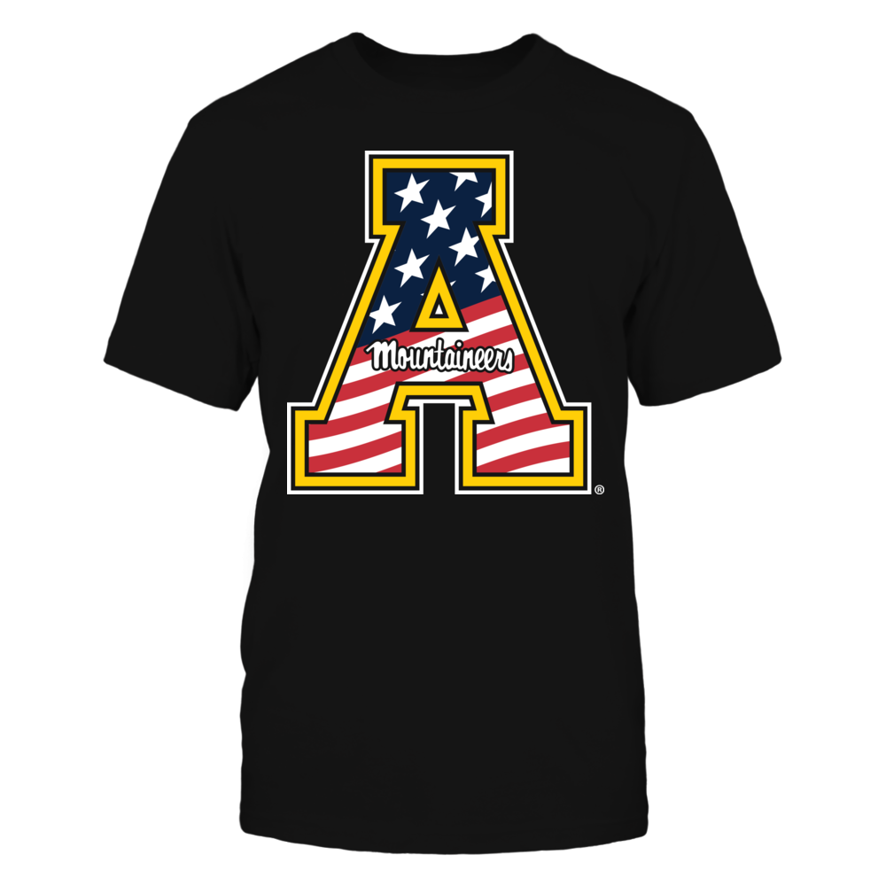 Appalachian State Mountaineers - Flag Pride Logo Front picture