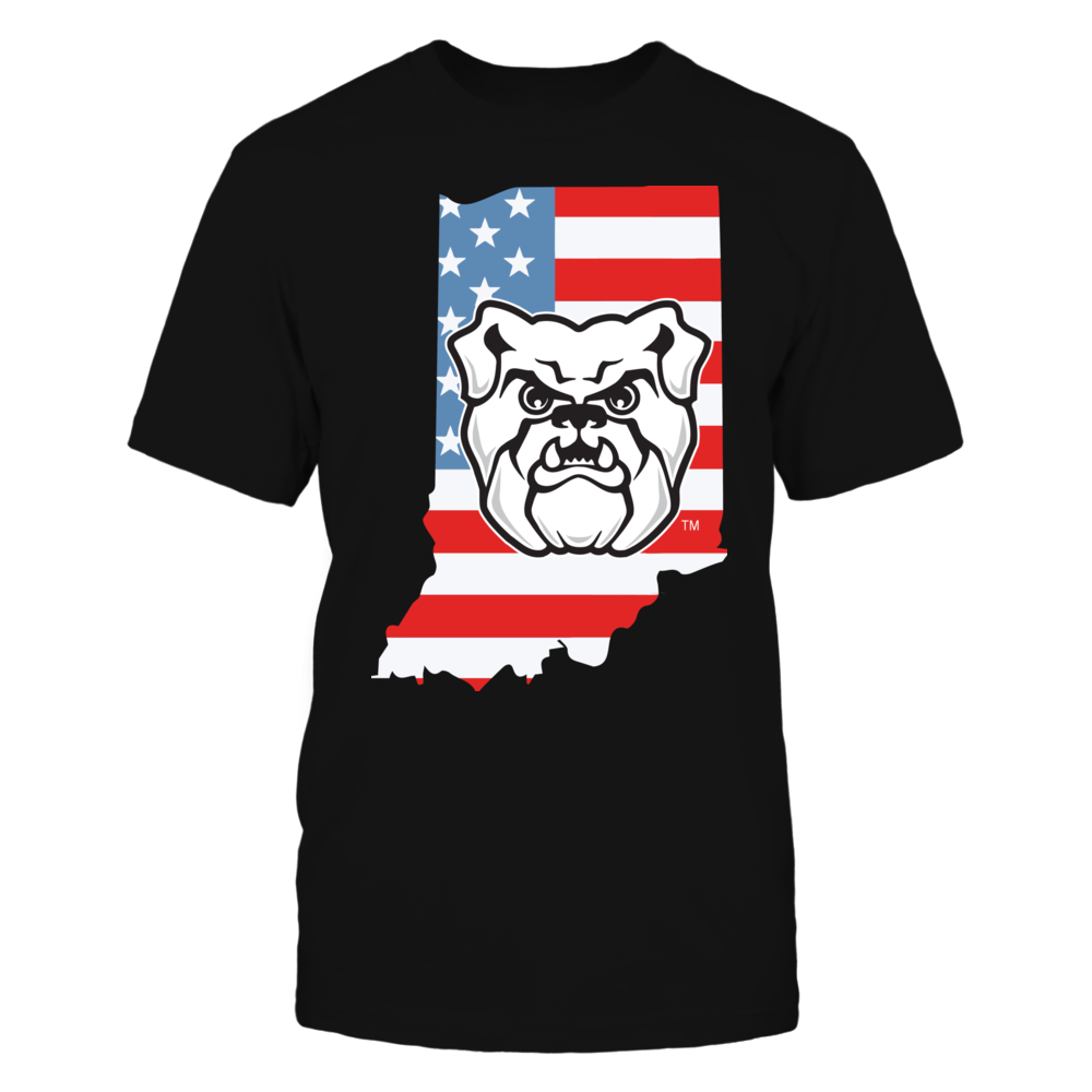 Butler Bulldogs - Flag Pride Logo State Front picture