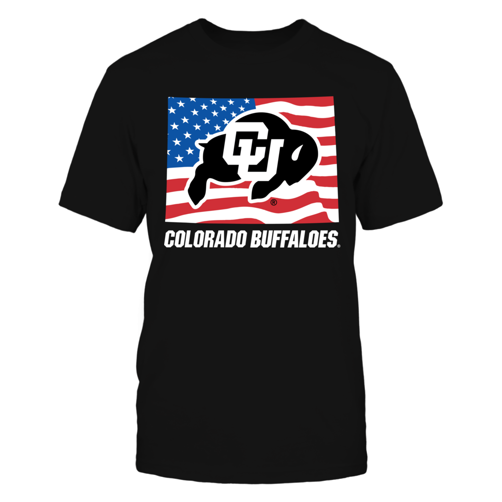 Colorado Buffaloes - Flag Pride Logo State Front picture