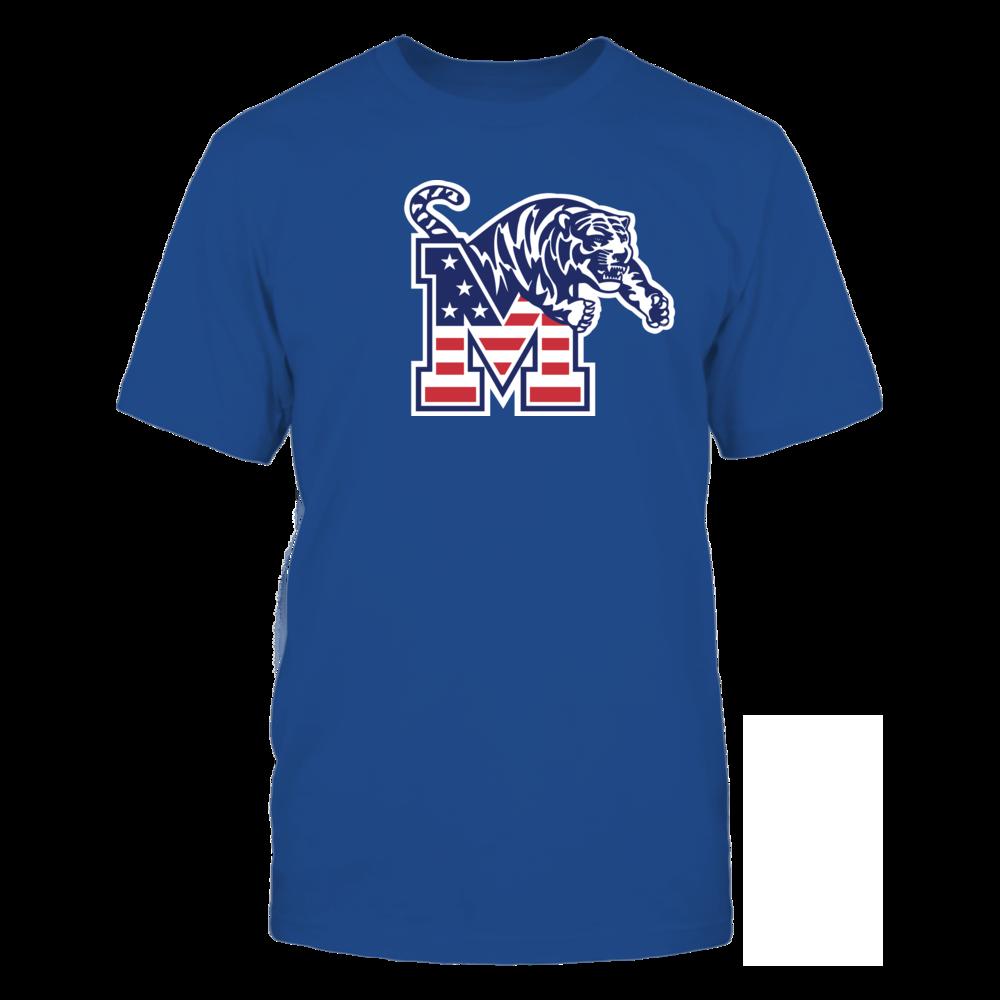 Memphis Tigers - Flag Pride Logo Front picture