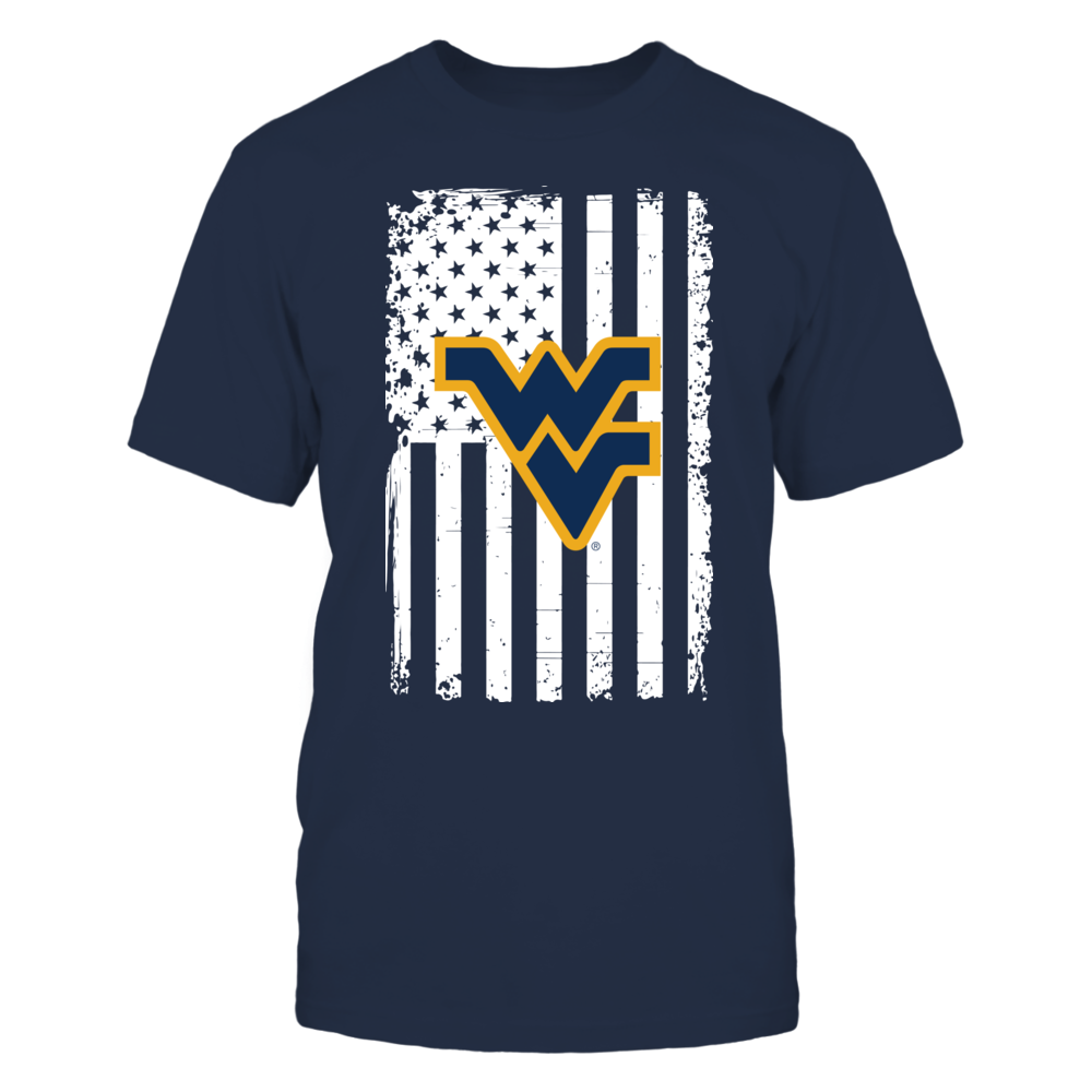 West Virginia Mountaineers - Flag Pride Front picture