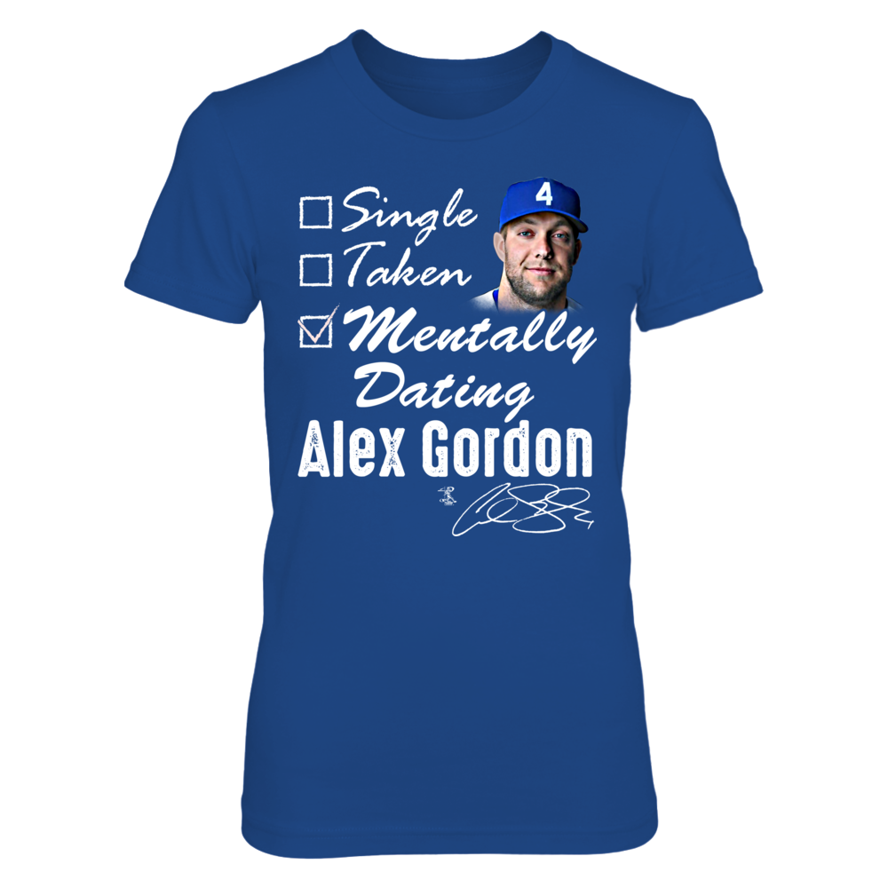 MENTALLY DATING - ALEX GORDON Front picture