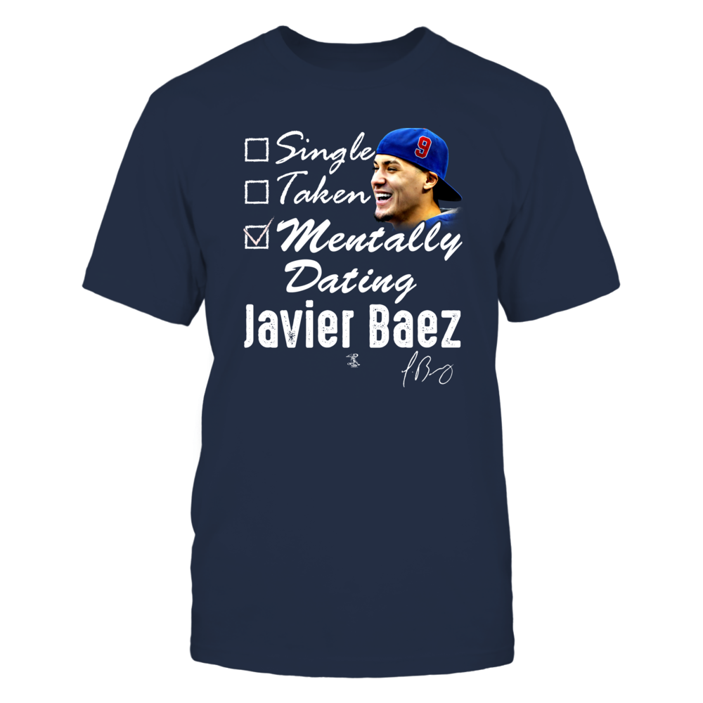 MENTALLY DATING - JAVIER BAEZ Front picture