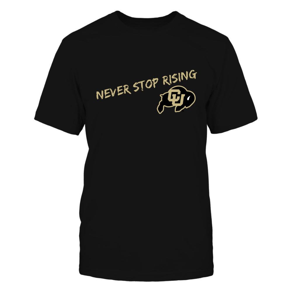 Never Stop Rising Shirt Front picture
