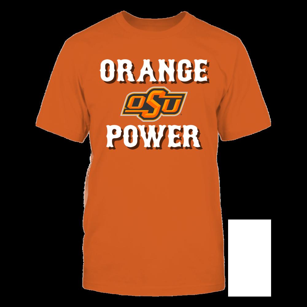 Oklahoma State University - Orange Power Front picture