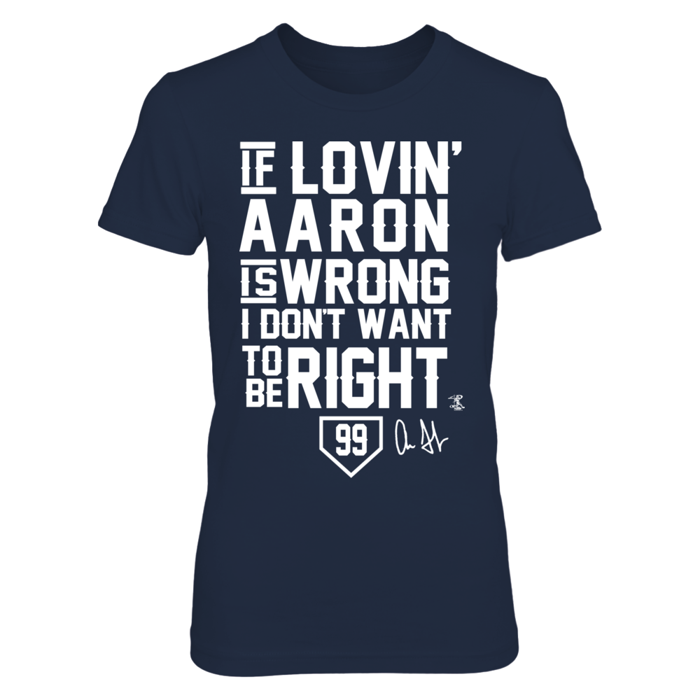Aaron Judge - If Lovin' Aaron Is Wrong Front picture