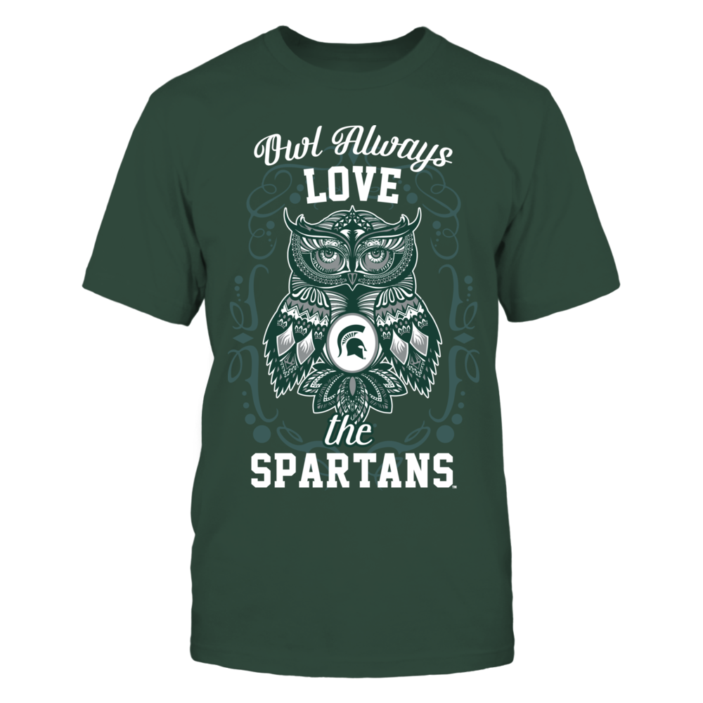 Michigan State Spartans - Owl always Front picture