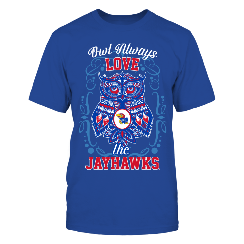 Kansas Jayhawks - Owl always Front picture