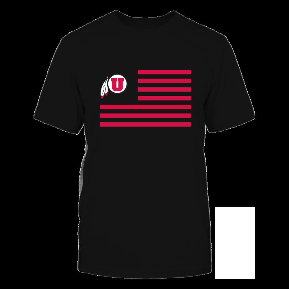 Utah Utes - Flag Stripes Front picture