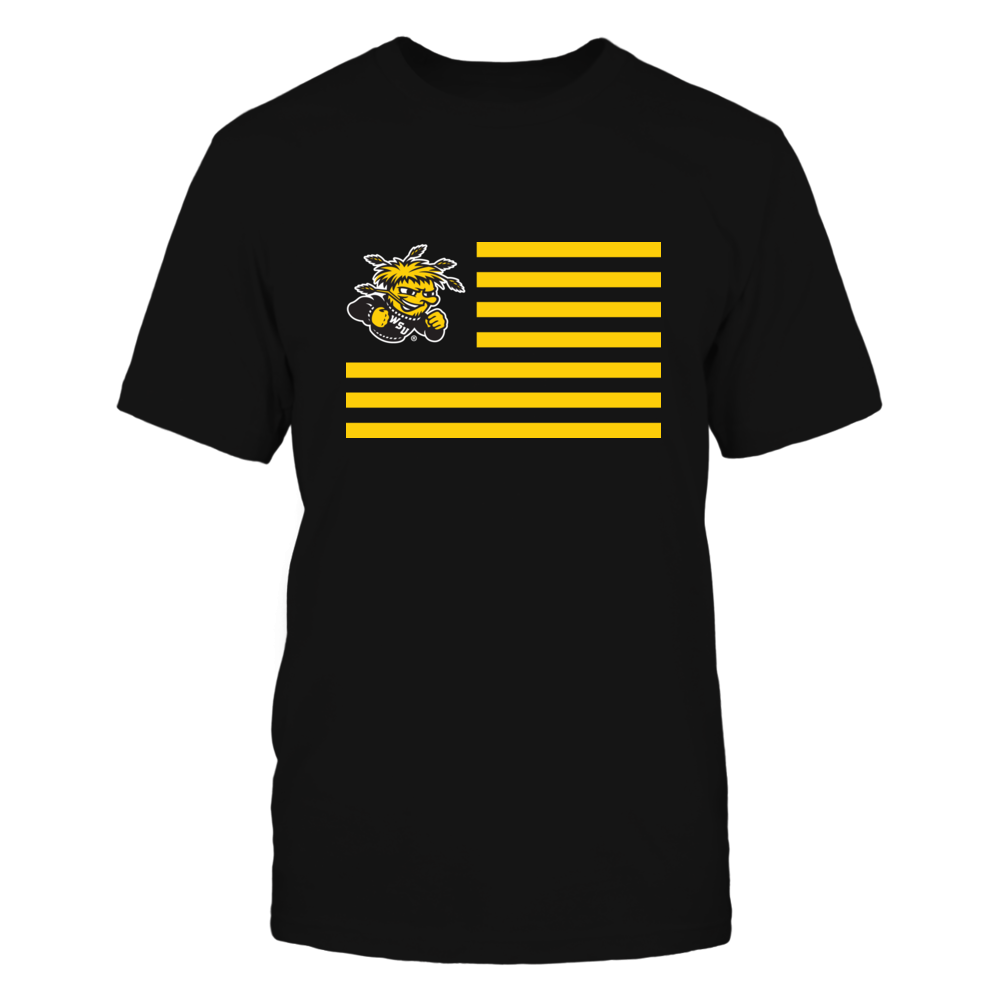 Wichita State Shockers - Flag Stripes Front picture