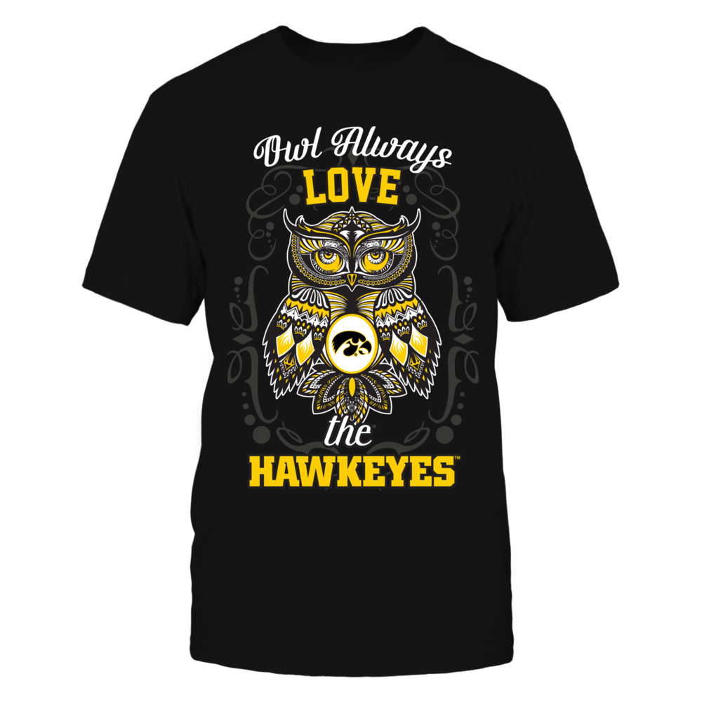 Iowa Hawkeyes - Owl always Front picture