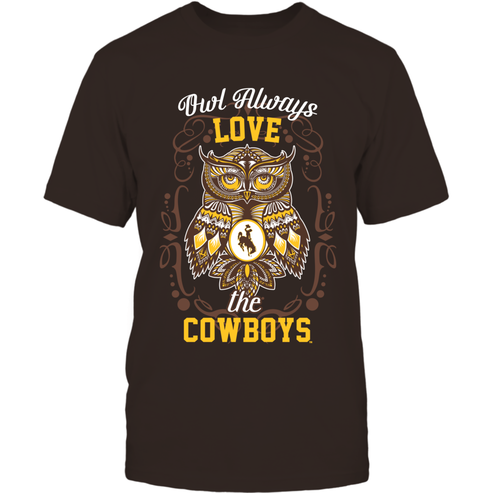 Wyoming Cowboys - Owl always Front picture