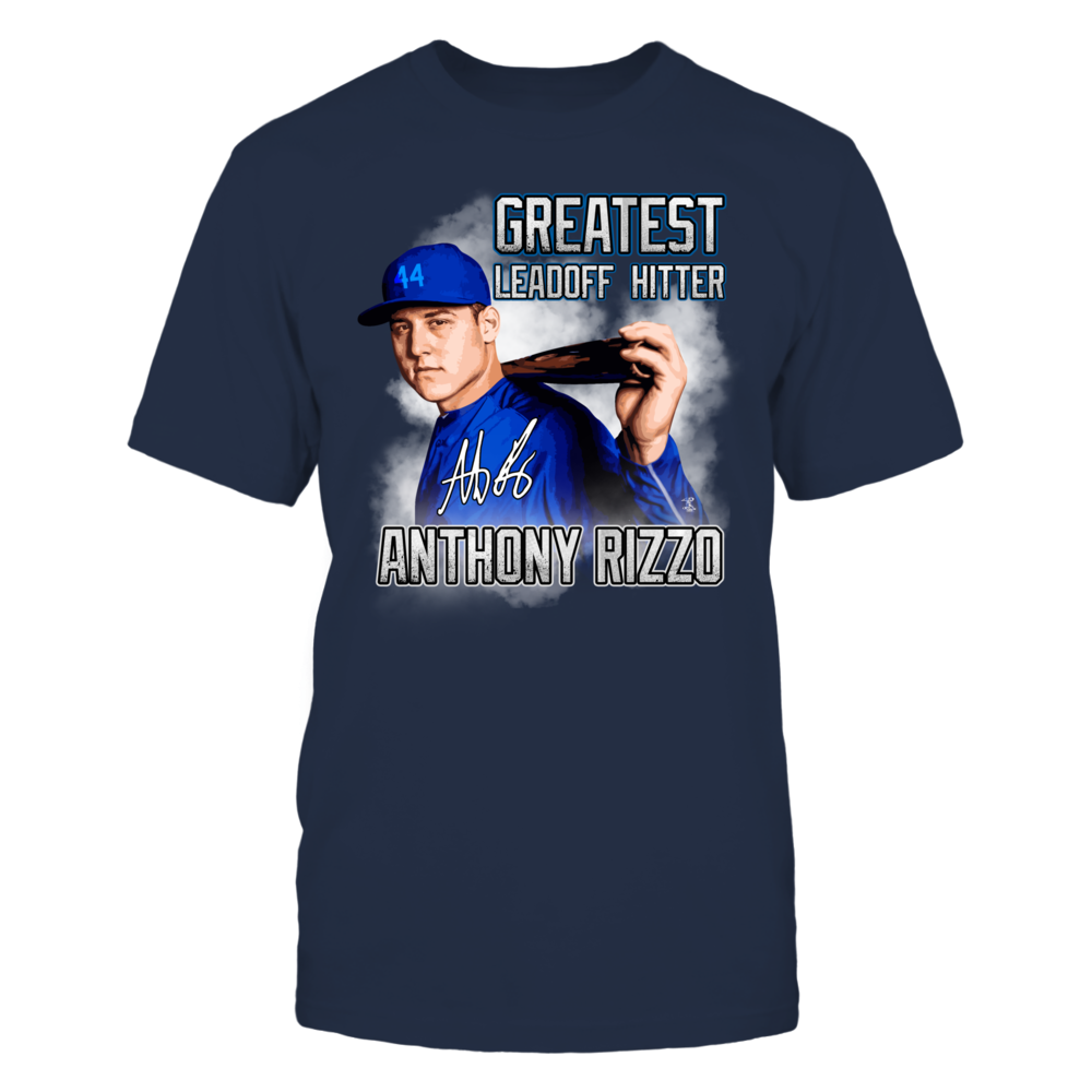 GREATEST LEADOFF HITTER ANTHONY RIZZO Front picture