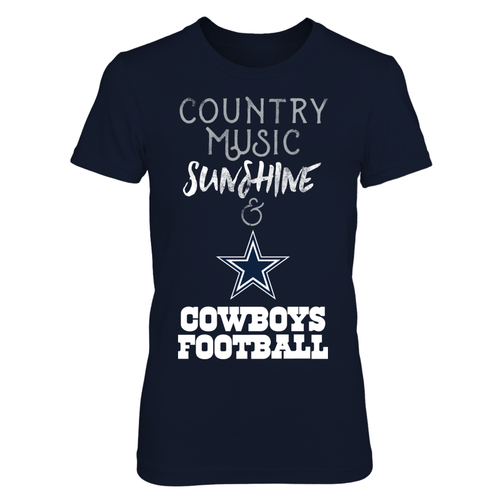 Country Music Sunshine & Cowboys Football Front picture