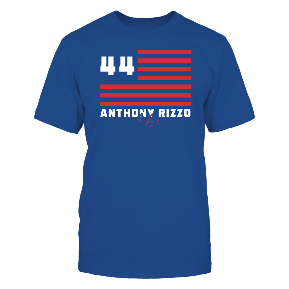 Anthony Rizzo - Flag Stripes Front picture