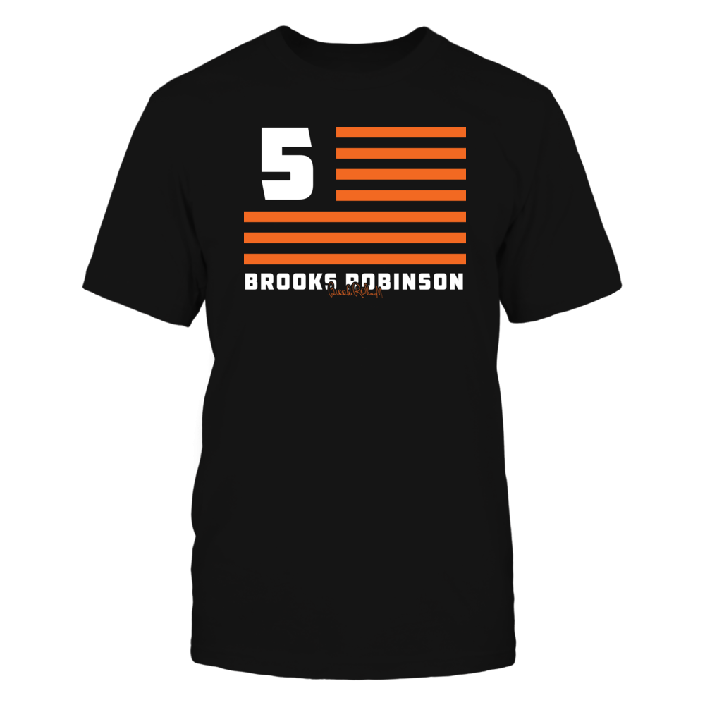 Brooks Robinson - Flag Stripes Front picture