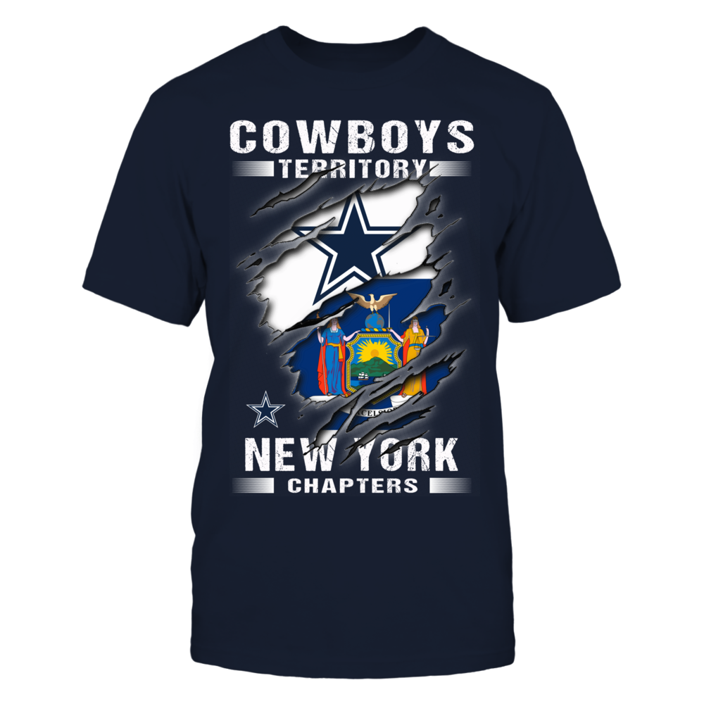 Dallas Cowboys - New York - Chapters Front picture
