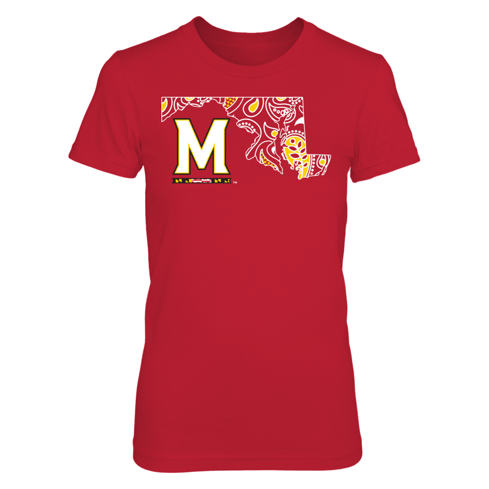 Maryland Terrapins - Paisley State Front picture
