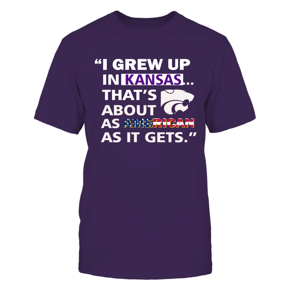 Kansas State Wildcats - I Grew Up In Kansas Front picture