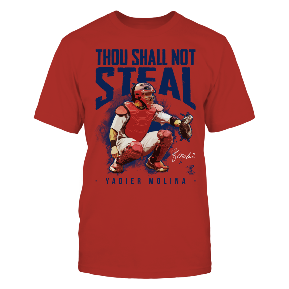 Yadier Molina - Thou Shall Not Steal Front picture