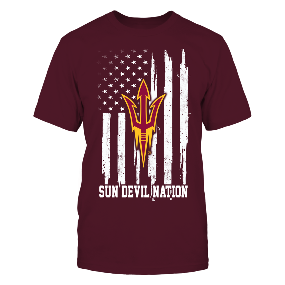 Arizona State Sun Devils - Nation Flag Front picture